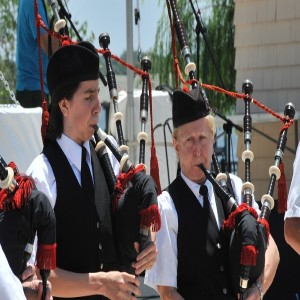 Bagpipes are a big part of the Ormond Beach Celtic Festival