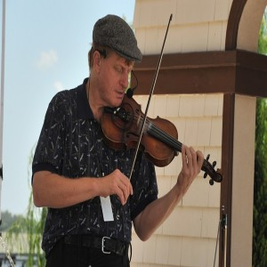 Fiddler at the Ormond Beach Celtic Festival