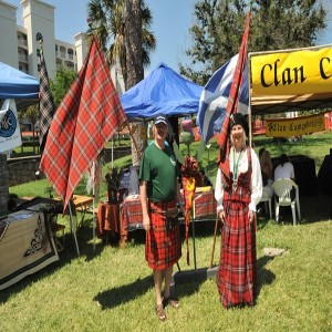 Participants dress the part at the Ormond Beach Celtic Festival