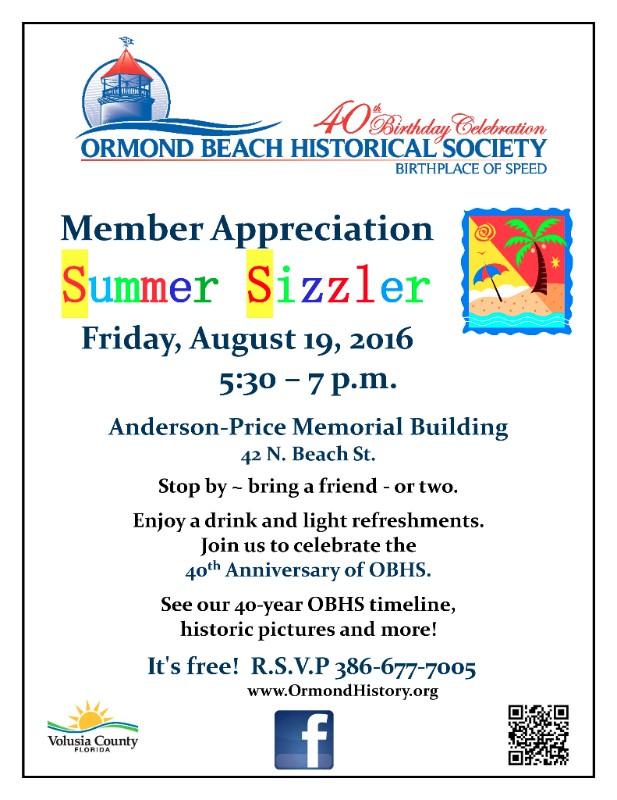 40th Birthday Celebration Ormond Beach Mainstreet