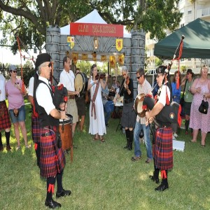 Dancing at the Ormond Beach Celtic Festival